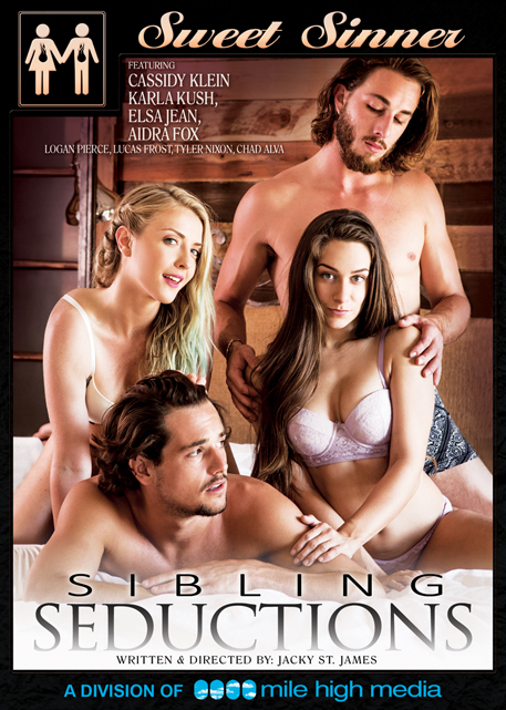 Mile High Media, Sweet Sinner, Jacky St. James, Sibling Seductions