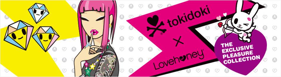 Lovehoney Trade pop culture brand 'tokidoki'
