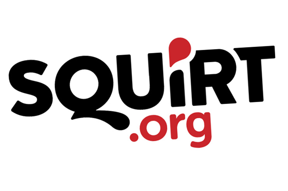 Squirt.org logo chemsex study