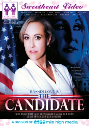"Sweetheart Video ""The Candidate"" DVD cover"