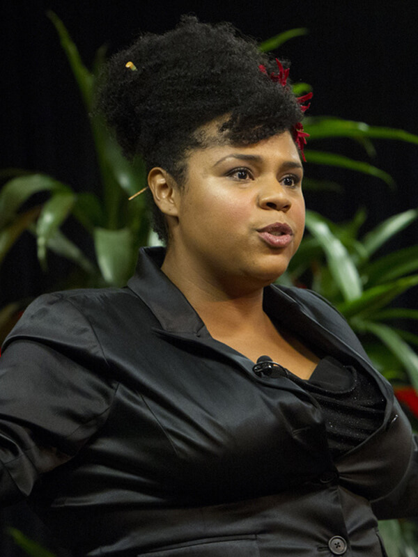 Desiree Burch supports Brook Comedy Benefit