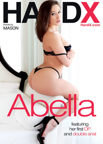 "Hard X gonzo movie ""Abella"" DVD cover"