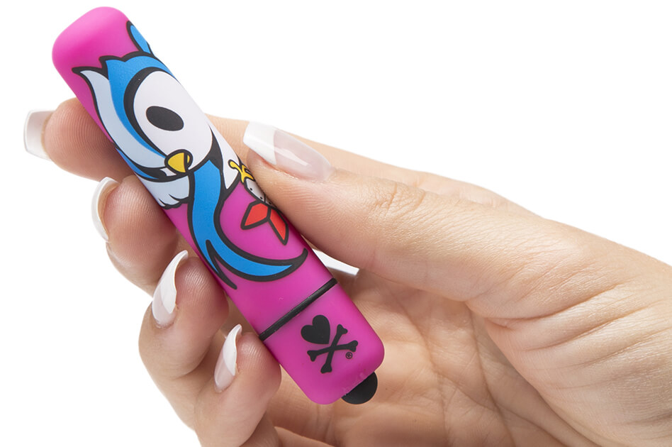 Lovehoney tokidoki Single Speed Mini Bullet Vibrator PERCH