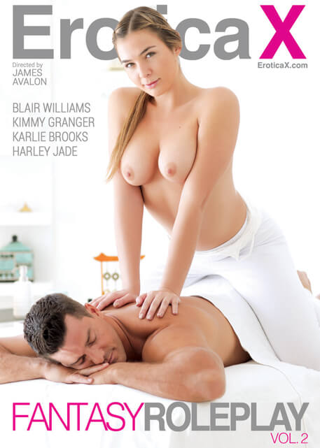 Erotica X Fantasy Roleplay Vol 2 DVD cover