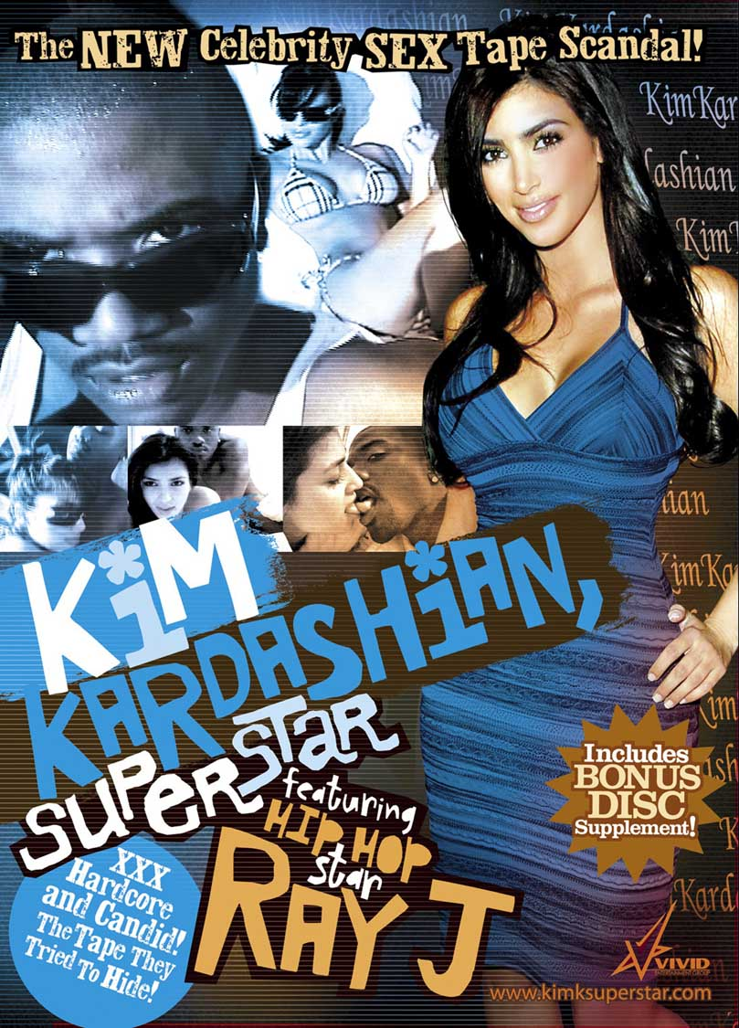 Kim Kardashian SuperStar, Kim Kardashian sex tape
