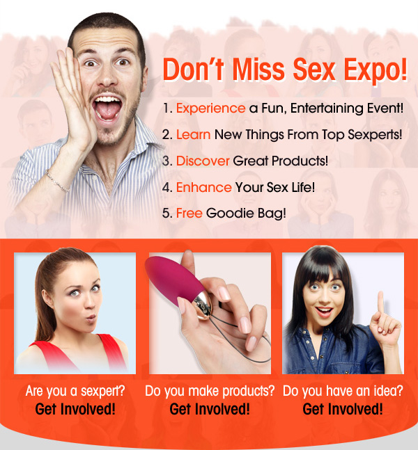 Sexual Health Expo Rebrands as Sex Expo