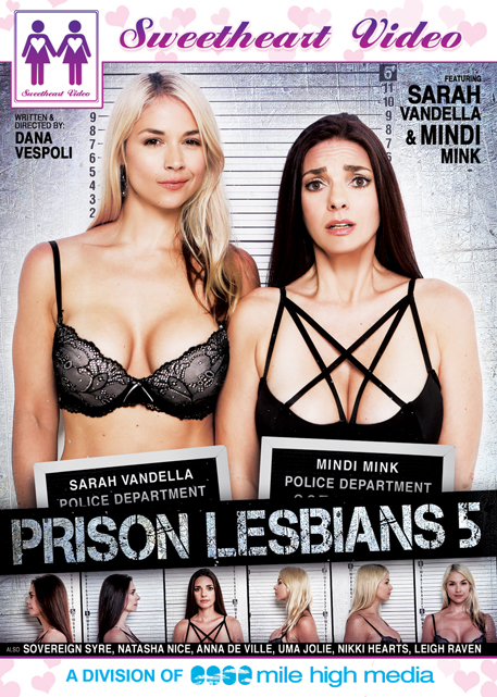 Mile High Media Prison Lesbians 5 DVD cover