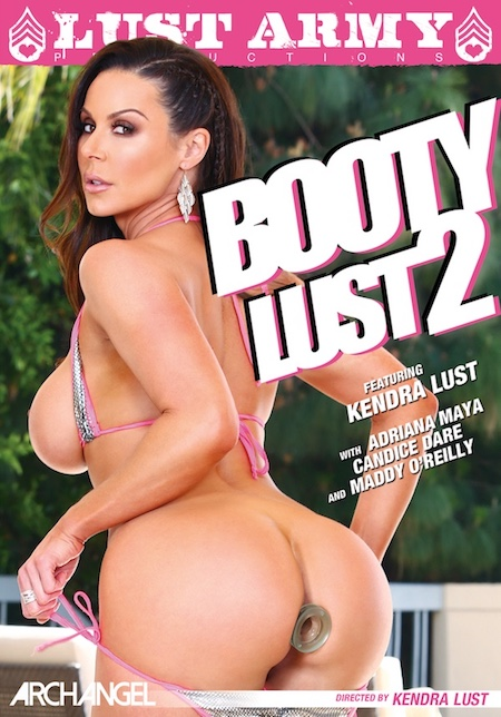 Booty Lust 2 DVD cover starring Kendra Lust