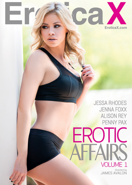 "Award-winning studio Erotica X presents its newest series,"" Erotic Affairs."""