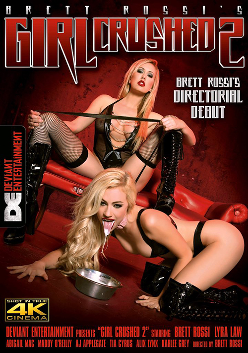 Curvy blonde girl next door Brett Rossi's directorial debut Girl Crushed 2 from Deviant Entertainment streets today.