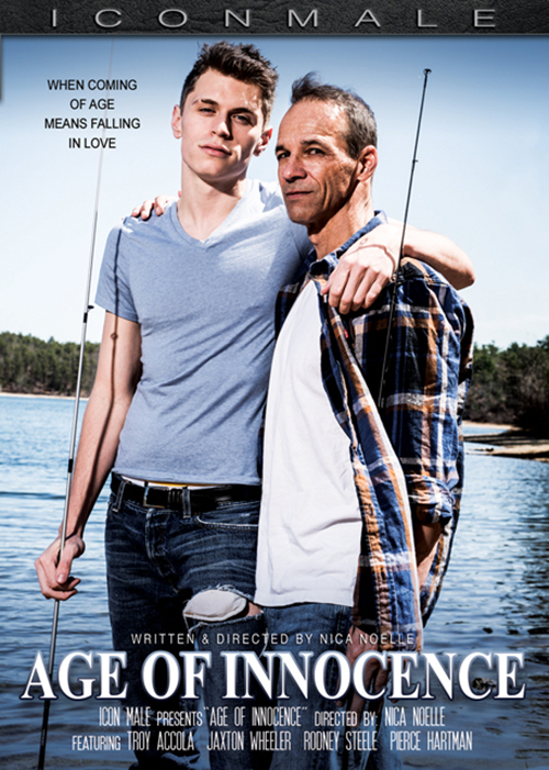 """Icon Male """"Age of Innocence"""" DVD cover"""